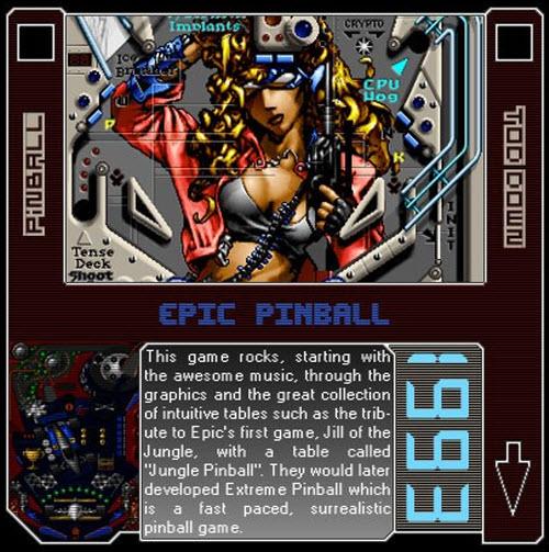 1993 - Epic Pinball