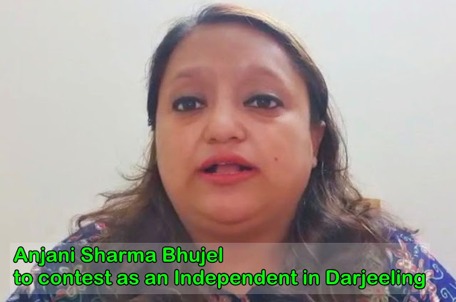 Anjani Sharma Bhujel to contest as an Independent in Darjeeling
