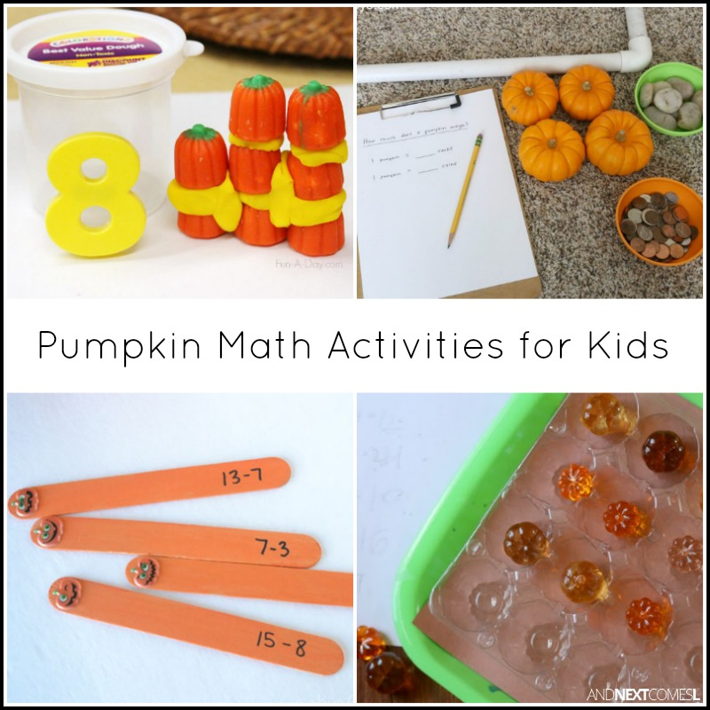 Pumpkin Math Activities for Kids | And Next Comes L