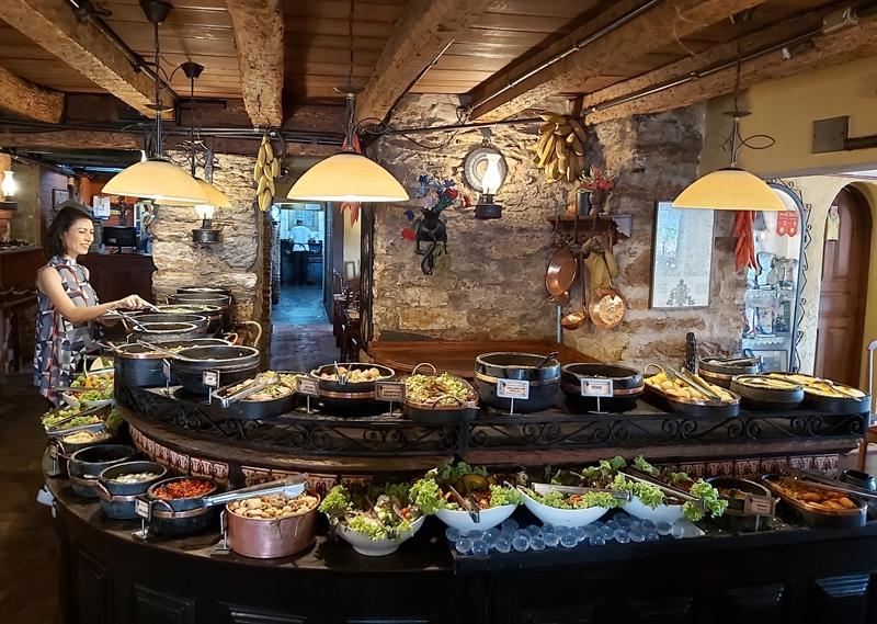 Melhor comida mineira: Restaurante Contos de Reis, Ouro Preto