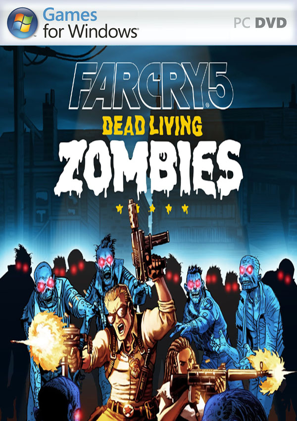 Far Cry 5 Dead Living Zombies PC Cover