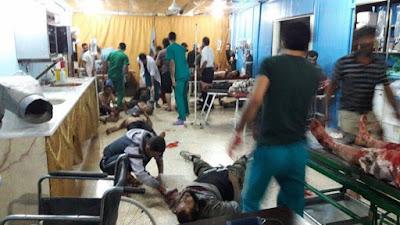 perawatan korban di rumah sakit turki