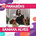 Parabéns hoje especial para Samara Alves 🥳👏🎂