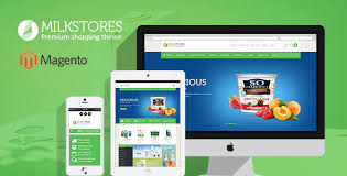 Ves Milk Store Responsive Magento Theme Wordpress