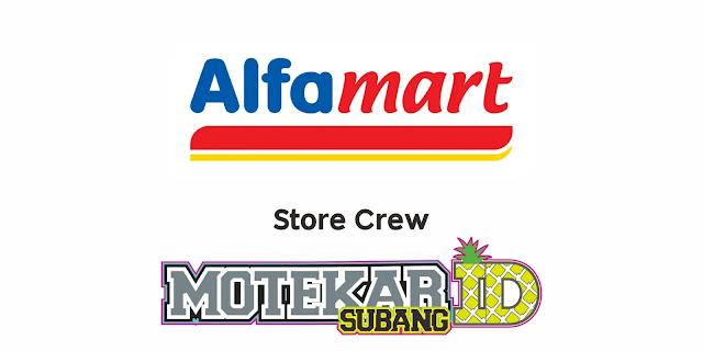 Info Lowongan Kerja Alfamart Branch Karawang Maret 2021