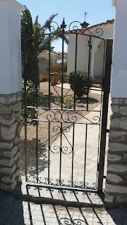 Puerta de forja en Tarragona