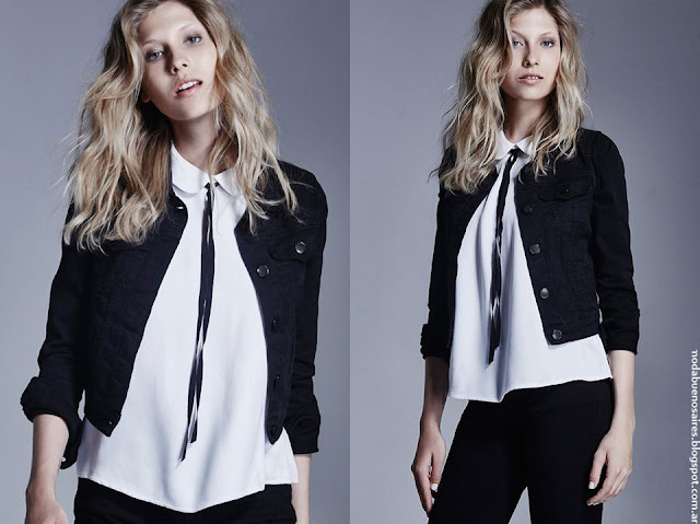 Moda invierno 2016 ropa de mujer Delucca,