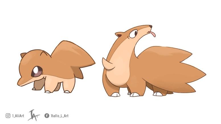 Pokémon Tamanduá