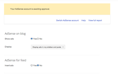 how to start your adsense page
