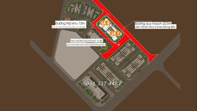 Mở bán Dự án biệt thự liền kề Helianthus Center Red River Cổ Dương Tiên Dương Đông Anh Hà Nội chung cư shophouse