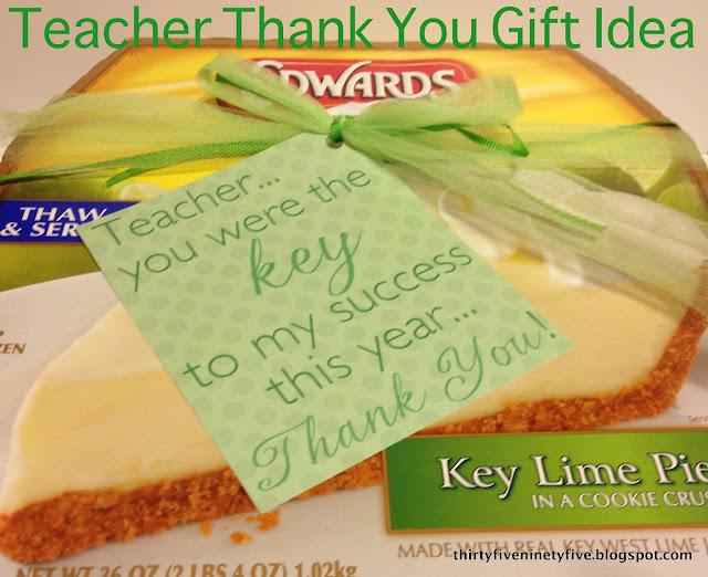 Teacher Thank You Gift Idea