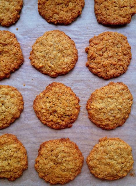 Owsiane ciasteczka / Oatmeal Cookies