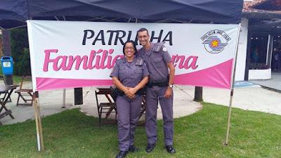 PATRULHA FAMÍLIA SEGURA COMEMORA 2 ANOS DE ATENDIMENTO  EM  IGUAPE, ILHA COMPRIDA E MIRACATU