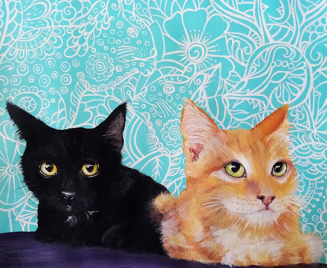 Kittens (by Carin Steen)