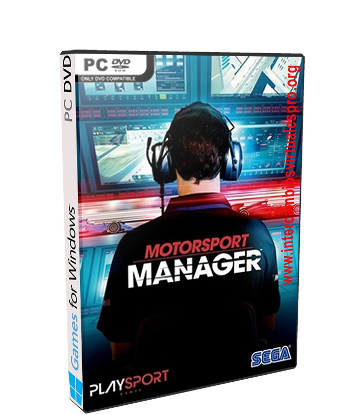 Motorsport Manager GT Series poster box cover