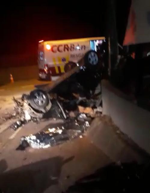 Acidente de carro na Rodovia Anhanguera deixa 4 mortos em Osasco, Grande SP