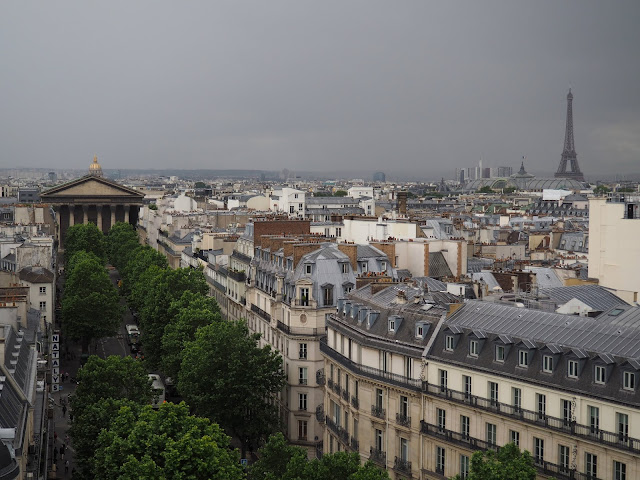 24 hours in Paris - view from Printemps Haussman