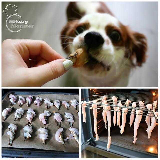 Suszone przysmaki dla psa