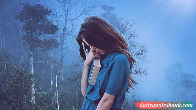 170+ Quotes About Suffering Alone In Silence, Love & Life