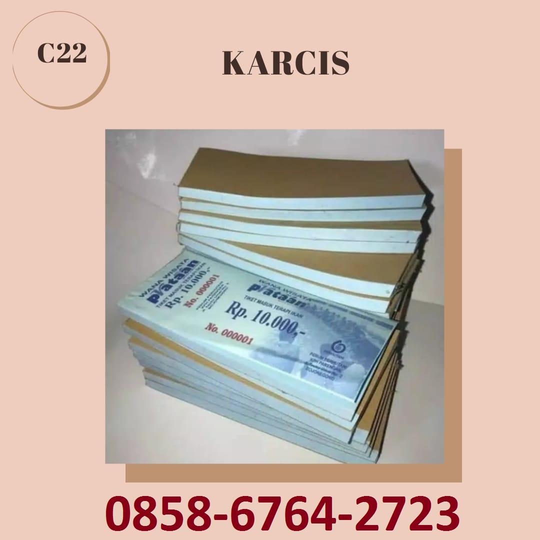 085867642723 Cetak Karcis di Magelang-Yogyakarta