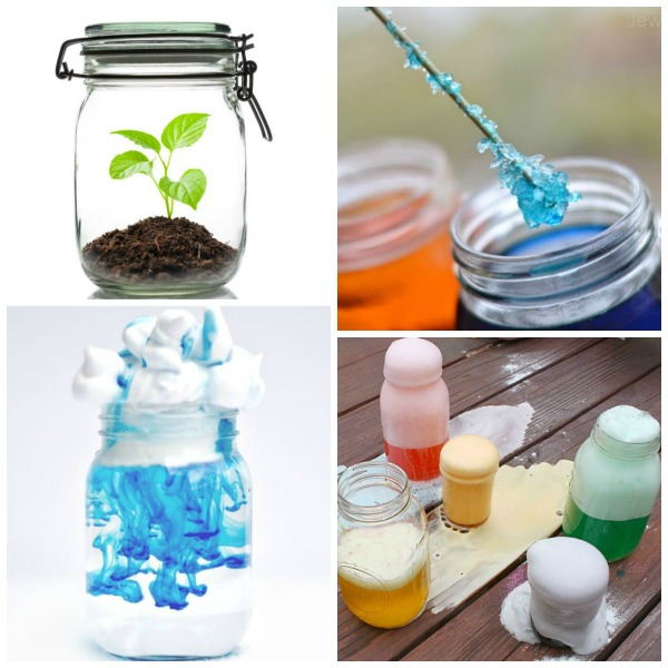 JAR SCIENCE FOR KIDS: 30 must-try experiments using a jar.