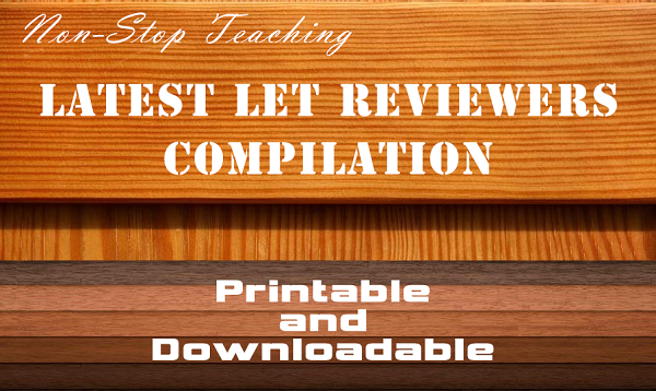 LET Reviewers Compilation