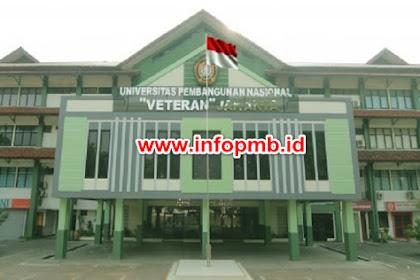Pendaftaran Mahasiswa Baru (UPN Veteran Jakarta) 2021-2022