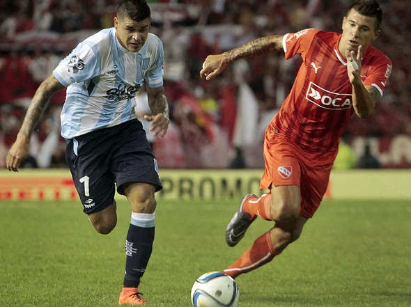 Gustavo Bou volvió a ser figura como en el partido ante Boca. Pase-gol en  el primero y gol en el segundo e78009d65d44d