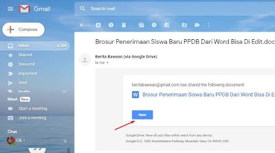 cara memindahakan data di google drive ke akun orang lain