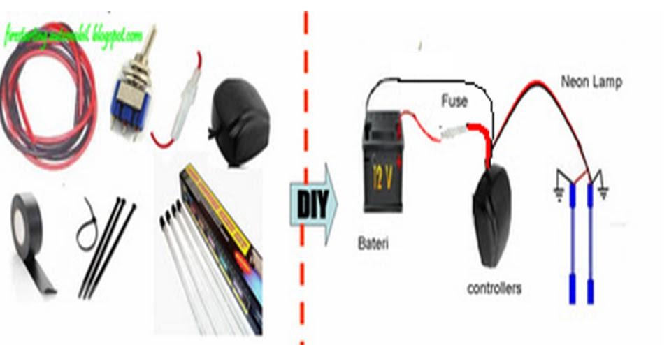 Pleasant Wiring Lampu Led Kereta Basic Electronics Wiring Diagram Wiring Cloud Nuvitbieswglorg