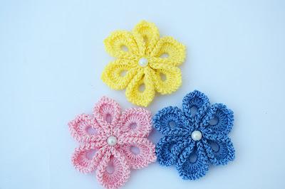 3 - Imagen Crochet Flor a crochet muy fácil y sencilla por Majovel Crochet