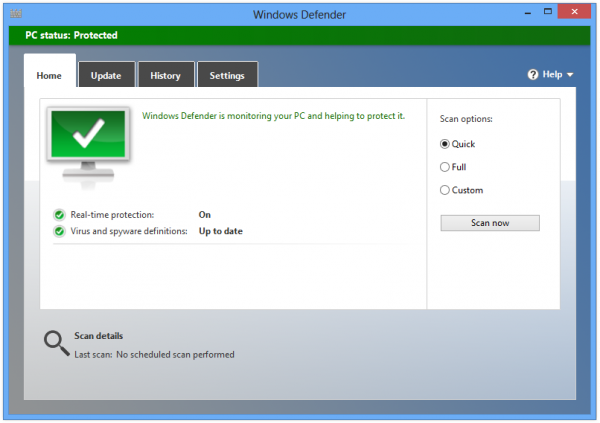Windows Defender: antivírus nativo do Windows 8, 8.1 e 10