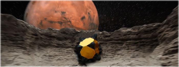 novo robô hedgehog para explorar asteroides e cometas