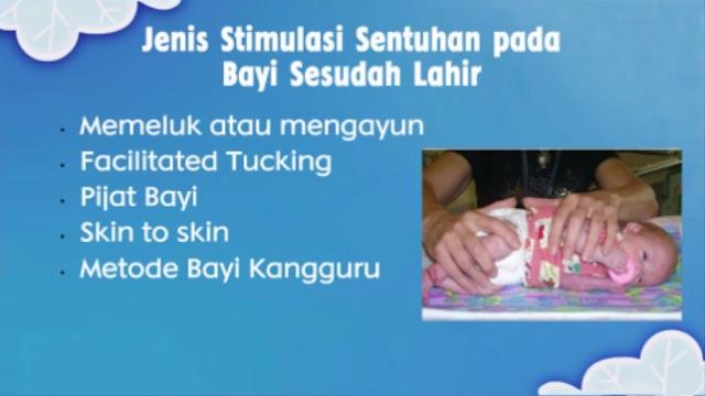 Jenis stimulasi sentuhan pada bayi