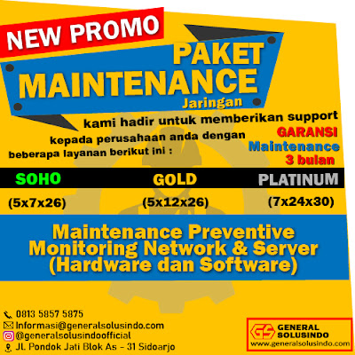 Jasa Maintenance Jaringan Server Kediri