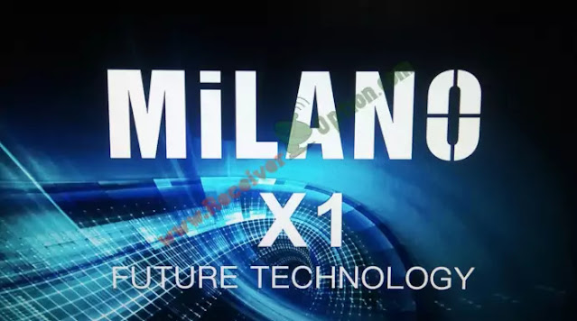 MILANO X1 1506TV 512 4M NEW SOFTWARE 22 APRIL 2021