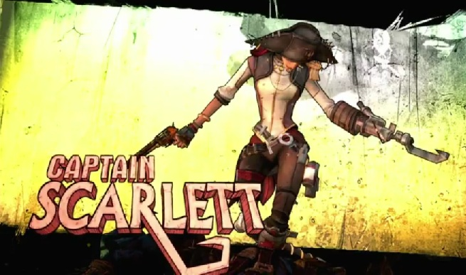 The Huh?: Borderlands 2: DLC's Captain Scarlett & Mr  Torgue's