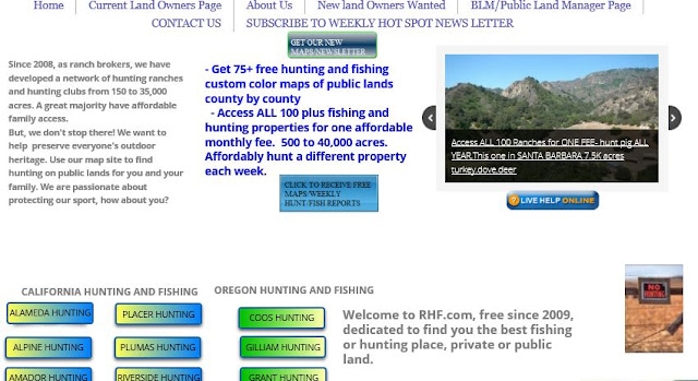 hunting and fishing clubs california oregon, hunting and fishing pricate ranches or lands oregon and california