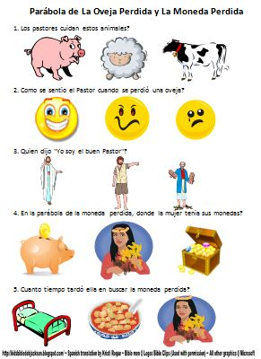 Bible Fun For Kids: Life of Jesus Worksheets in Spanish