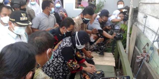 Turun Ke Lapangan, Mensos Risma Akui Bantuan Yang Diterima Masyarakat Tidak Sesuai