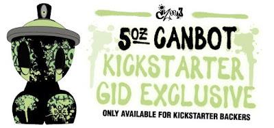 Canbot 3oz Blind Box Artist Series by Czee13 x Clutter Kickstarter Campaign