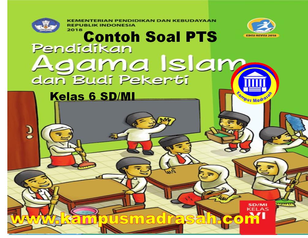 Soal Dan Jawaban PTS PAI Dan BP Semester 1 Kelas 6 SD