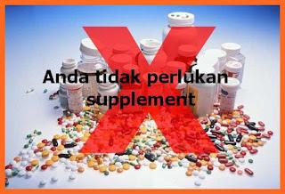 Anda tidak perlu suplement; penting kah suplemet dalam hidup kita; kita perlu vitamin kah? shaklee lawas sarawak; shaklee labuan; shaklee balik pulau