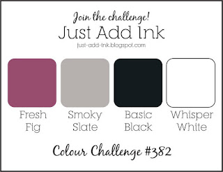 Jo's Stamping Spot - Just Add Ink Challenge #382