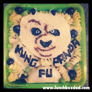 Kung Fu Panda kids lunch