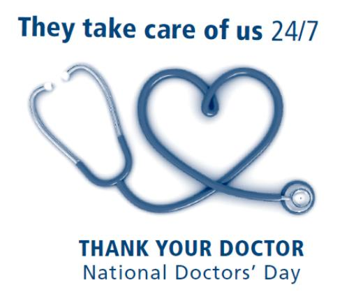 National Doctors Day 2016 Gift Ideas ~ Doctor's Appreciation Day 2016 Gifts & Cards