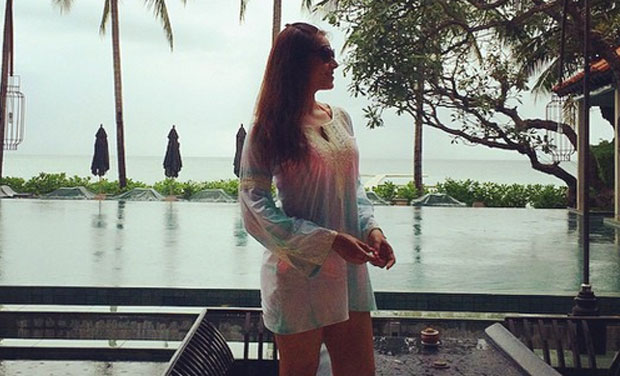 Bipasha Basu and Karan Singh Grover are as of now holidaying in the Maldives.