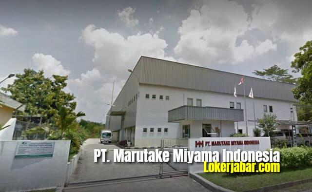Lowongan Kerja PT. Marutake Miyama Indonesia
