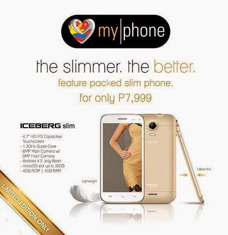 MyPhone ICEBERG Slim announced, priced at Php7,999
