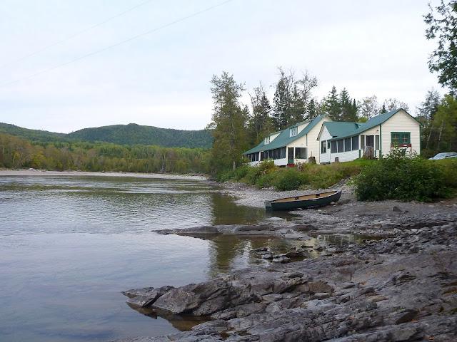 Camp Melancon on the Petite Cascapedia